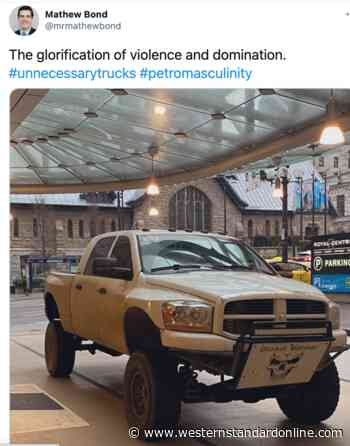 North Vancouver councillor says pickup truck is 'glorification of violence', 'petro masculinity' - Western Standard