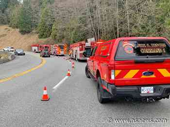 West Vancouver emergency crews respond to mountain biking accident - North Shore News