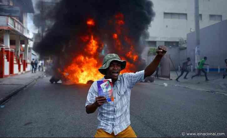 La ONU denuncia al menos 133 muertos durante 15 meses de protestas en Haití