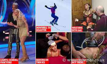 The Olympian who broke her neck, the soap star who stabbed herself in the head with her own skate