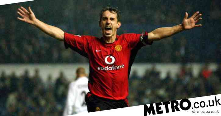 Gary Neville names the best striker he ever played with at Manchester United