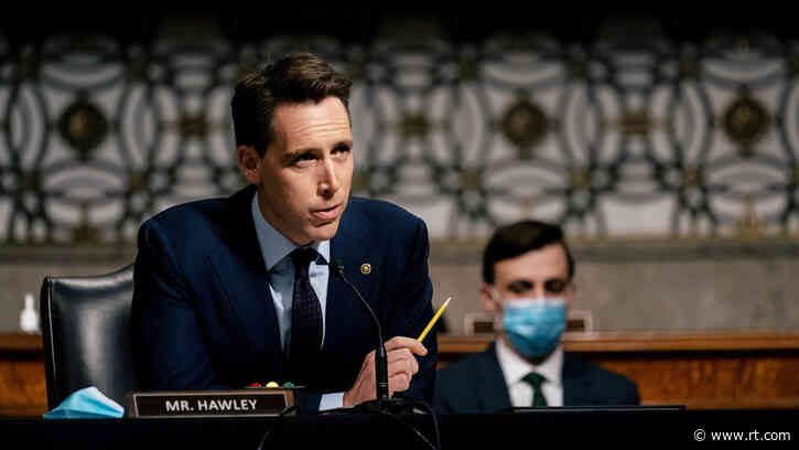 Senator Hawley finds new publisher after being blacklisted over Capitol riot… and his old publisher will have to distribute it
