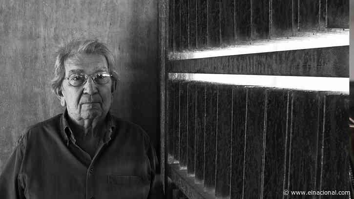Falleció el escultor Harry Abend a los 83 años de edad