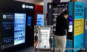 Vending machines selling COVID-19 home testing kits are coming to several major US cities