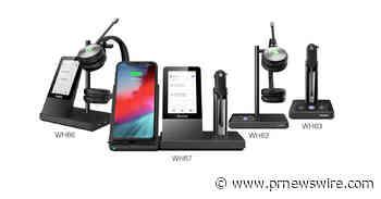 Yealink kündigt neue WH6x Serie DECT Wireless HeadsetsxUC Workstation an, zertifiziert für Microsoft Teams: Definieren Sie Ihren Arbeitsbereich neu