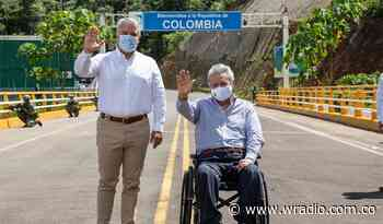 Iván Duque y Lenín Moreno revisan avances del corredor entre Río Mataje y La Espriella - W Radio