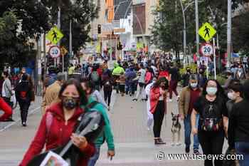 Colombia's Capital Bogota Extends Nightly Curfew to Curb Coronavirus