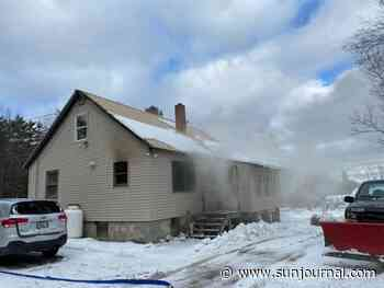 Fire heavily damages house in Chesterville   Lewiston Sun Journal - Lewiston Sun Journal
