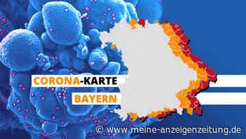 Corona-Karte für Bayern zeigt die aktuellen Hotspots: Alle Zahlen aus Landkreisen und Städten