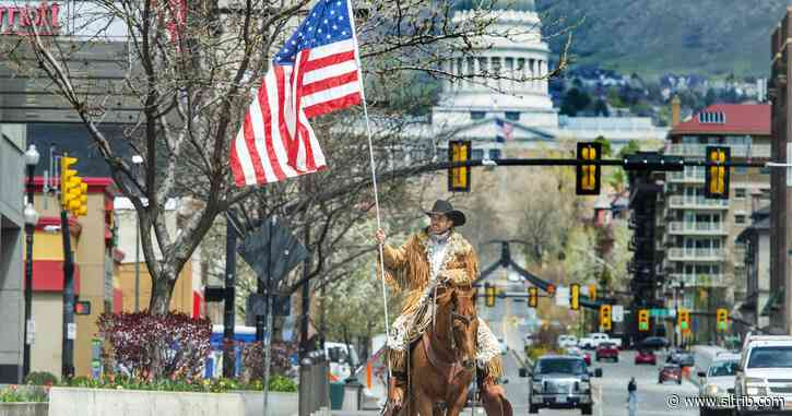 Trump supporter who rode his horse through SLC charged with entering U.S. Capitol illegally