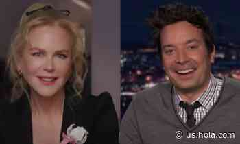 Nicole Kidman and Jimmy Fallon's chemistry is everything we need right now - HOLA USA
