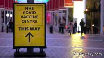 COVID-19: Warning of UK cases spike if vaccinated people break coronavirus rules - Sky News