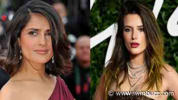 Salma Hayek To Bella Thorne: Hollywood Celebrities Giving Cues On How To Slay The Bikini On Beach - IWMBuzz