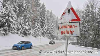 Schnee in Bayern: Zahlreiche Unfälle - Aktion von Ausflüglern  trotz Lawinenwarnstufe 4 sorgt für Entsetzen