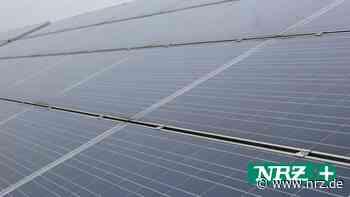 Kleve: 13,6 Millionen Kilowattstunden Solarstrom erzeugt - NRZ