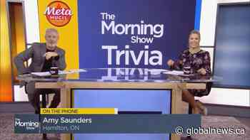 Lighten Up Trivia: Hamilton, Ont. mom takes a chance to win $1K | Watch News Videos Online - Globalnews.ca
