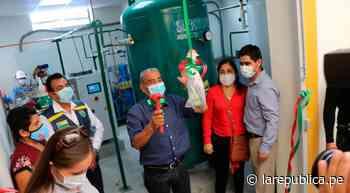Amazonas: ponen en funcionamiento planta de oxígeno en Bagua Grande LRND - LaRepública.pe