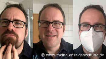 """FFP2-Maskenpflicht in Bayern: Erlanger Oberbürgermeister startet Bart-ab-Challenge - """"Geteiltes Leid..."""""""