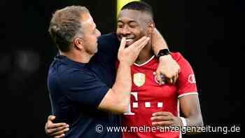 """FC Bayern: Flick-PK vor Augsburg JETZT im Live-Ticker - Trainer übe Alaba: """"Hoffnung stirbt zuletzt"""""""