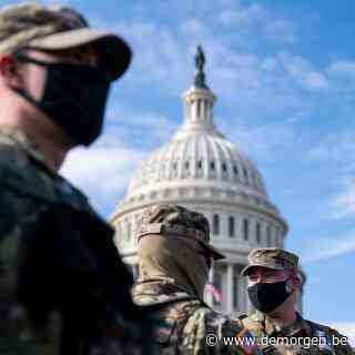 Versterkte vesting Washington DC zet zich schrap: 'Dit vertoon van militaire kracht is helaas noodzakelijk'