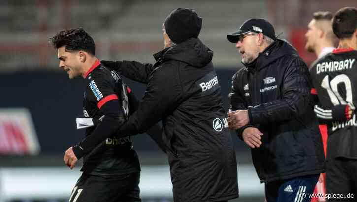 Nach Eklat bei Bundesligaspiel: Amiri akzeptiert Entschuldigung von Gegenspieler – Union bestreitet Rassismus - DER SPIEGEL