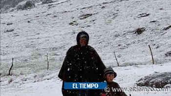¿Por qué se han presentado nevadas en el parque El Cocuy? - El Tiempo
