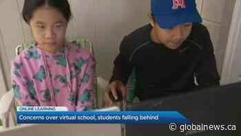 Concerns grow over virtual school with students falling behind