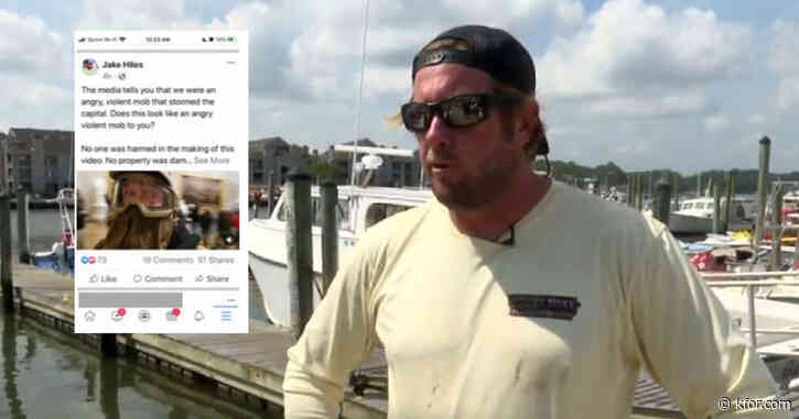 Charter boat owner who banned Democrats from his vessel charged with participating in Capitol insurrection