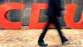 Kurz vor Ende des Jahres: CDU erhält späte 500.000-Euro-Spende