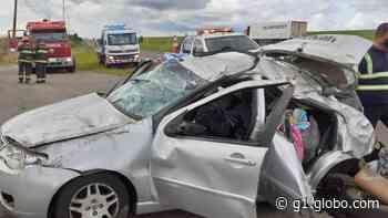 Acidente deixa dois feridos na SP-310 entre São Carlos e Itirapina - G1