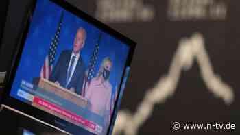 Demokraten gut für Konjunktur: Ökonomen hoffen auf Biden-Boom