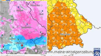 Achtung, gefährlicher Wetter-Mix: Glätte-Warnung für ganz Bayern - Straßen spiegelglatt