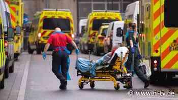 Neuer Negativrekord bei Toten: Jeder zehnte Brite hatte bereits Corona