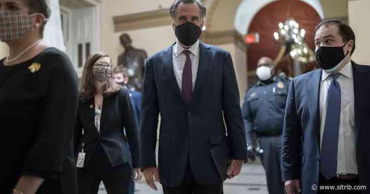 Mitt Romney's full day: Speaks out on impeachment, Russia sanctions, weak cybersecurity