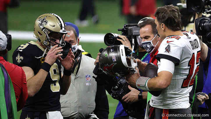 Tom Brady, Drew Brees Share One Final Moment On Field After Buccaneers Beat Saints