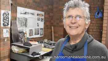 River of Art Festival 2020: Mirabel Fitzgerald opens up studio - Narooma News