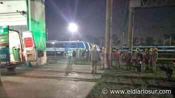 Dos electrocutados en la estación Llavallol: son empleados del Tren Roca - El Diario Sur