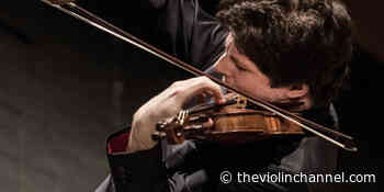HADELICH AT HOME | Violinist Augustin Hadelich Performs Chevalier de Saint-Georges - The Violin Channel