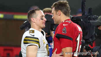 Here's what Tom Brady said to Drew Brees after Buccaneers playoff win over Saints