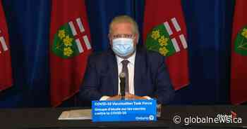 Ontario premier pleads with incoming Biden administration for COVID-19 vaccine help