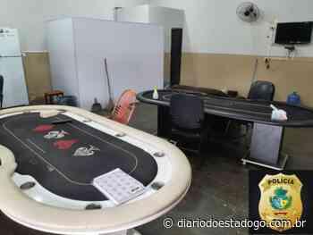 Polícia fecha casa de jogos de azar em Pires do Rio - Diário do Estado