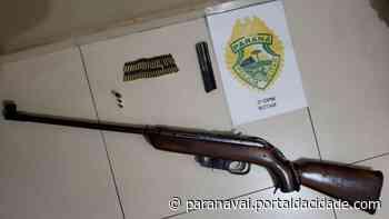 Suspeito de atirar em via pública é preso com espingarda em Loanda - ® Portal da Cidade   Paranavaí