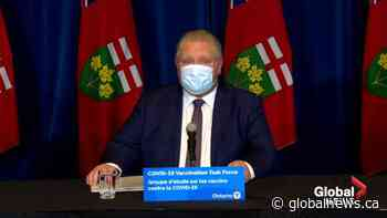 Coronavirus: Ford responds to criticism from PM over long-term care homes, says Ontario needs vaccines