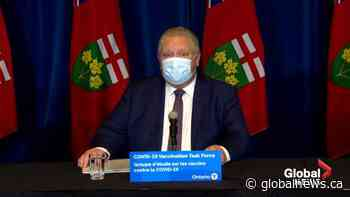 """Coronavirus: Doug Ford lashes out at Pfizer for vaccine delay: """"Where are our vaccines?"""""""