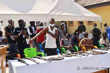 Police arrest, parade Lokoja-Abuja 'kidnap kingpin', others - Daily Trust
