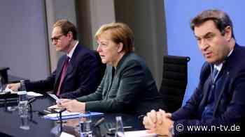 """""""Wir müssen jetzt handeln"""": Lockdown verlängert: Merkel warnt vor Virus-Mutation"""