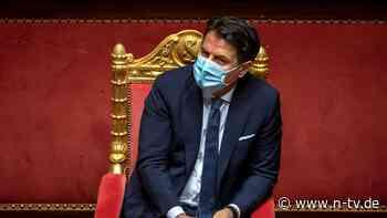 Neuwahlen vom Tisch: Conte gewinnt auch zweite Vertrauensfrage
