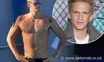 Cody Simpson insists 'it was cold' after being photographed wearing VERY skimpy Speedos