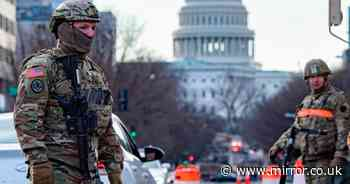 25,000 troops turn Washington into armed fortress for Joe Biden's inauguration