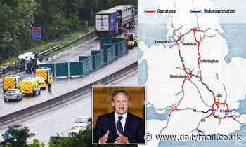 Smart motorway showdown with Transport Secretary Grant Shapps looms for Highways England